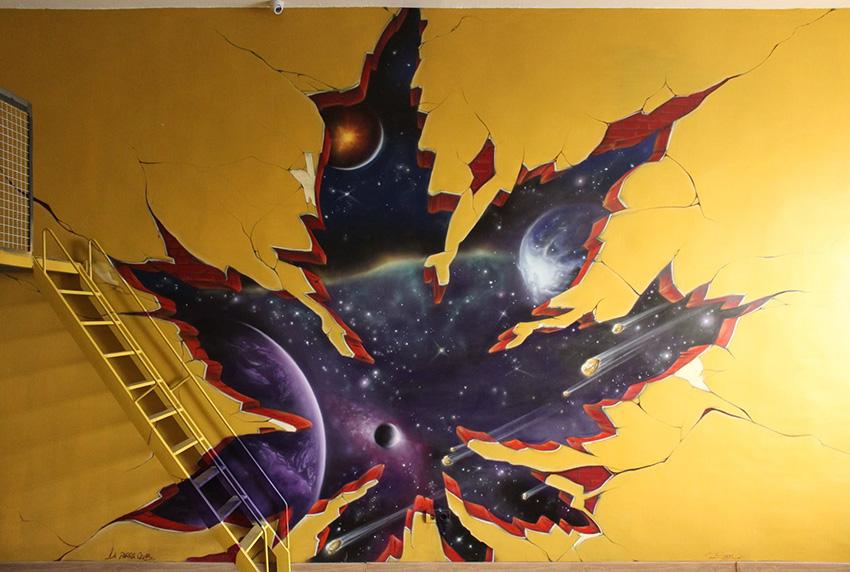 SoenBravo | La Parra| Pintor de murales especializado en trabajos artísticos de pintura, graffiti y decoración en Madrid
