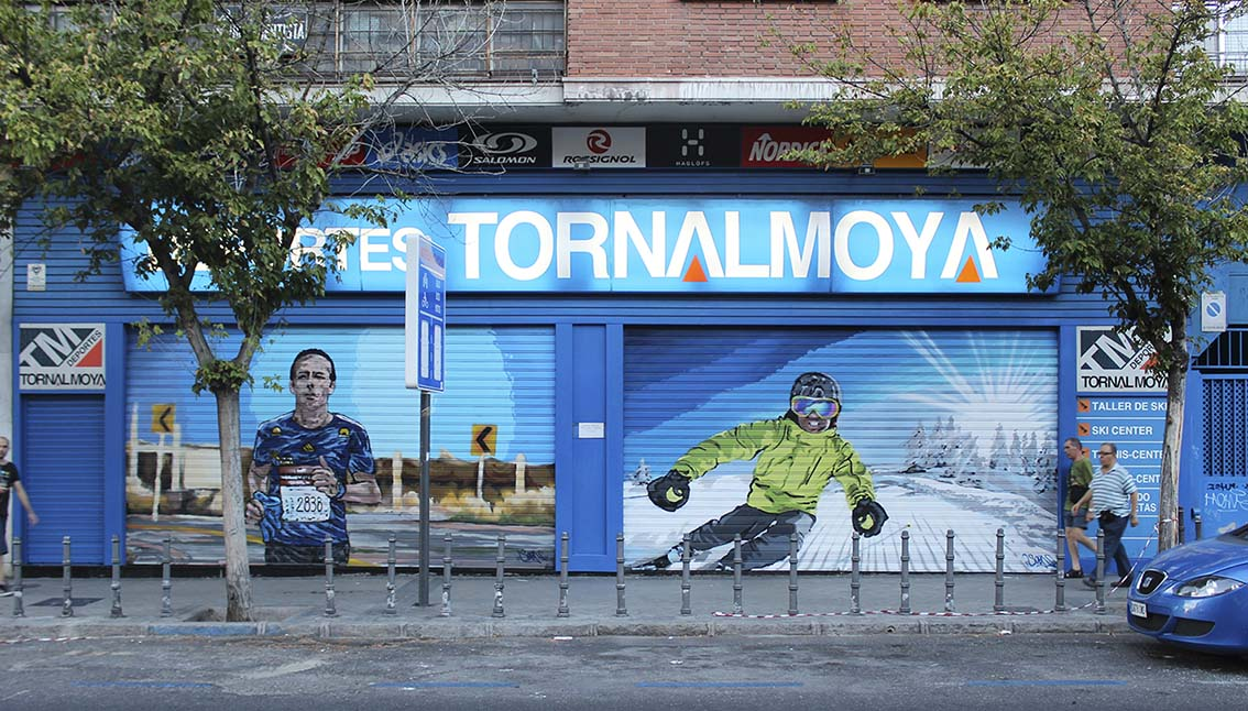 SoenBravo | Tornal Moya | Pintor de murales especializado en trabajos artísticos de pintura, graffiti y decoración en Madrid