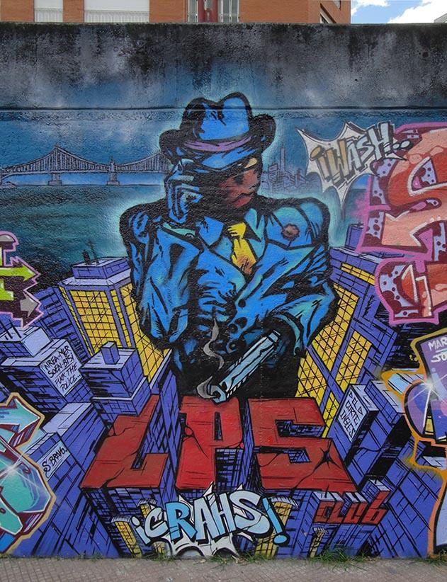 SoenBravo | LPS Club 2012 | Pintor de murales especializado en trabajos artísticos de pintura, graffiti y decoración en Madrid
