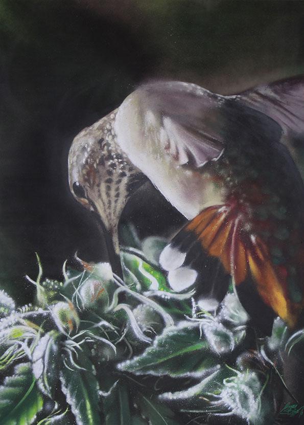 SoenBravo | Pintura La naturaleza es sabia | Pintor de murales especializado en trabajos artísticos de pintura, graffiti y decoración en Madrid