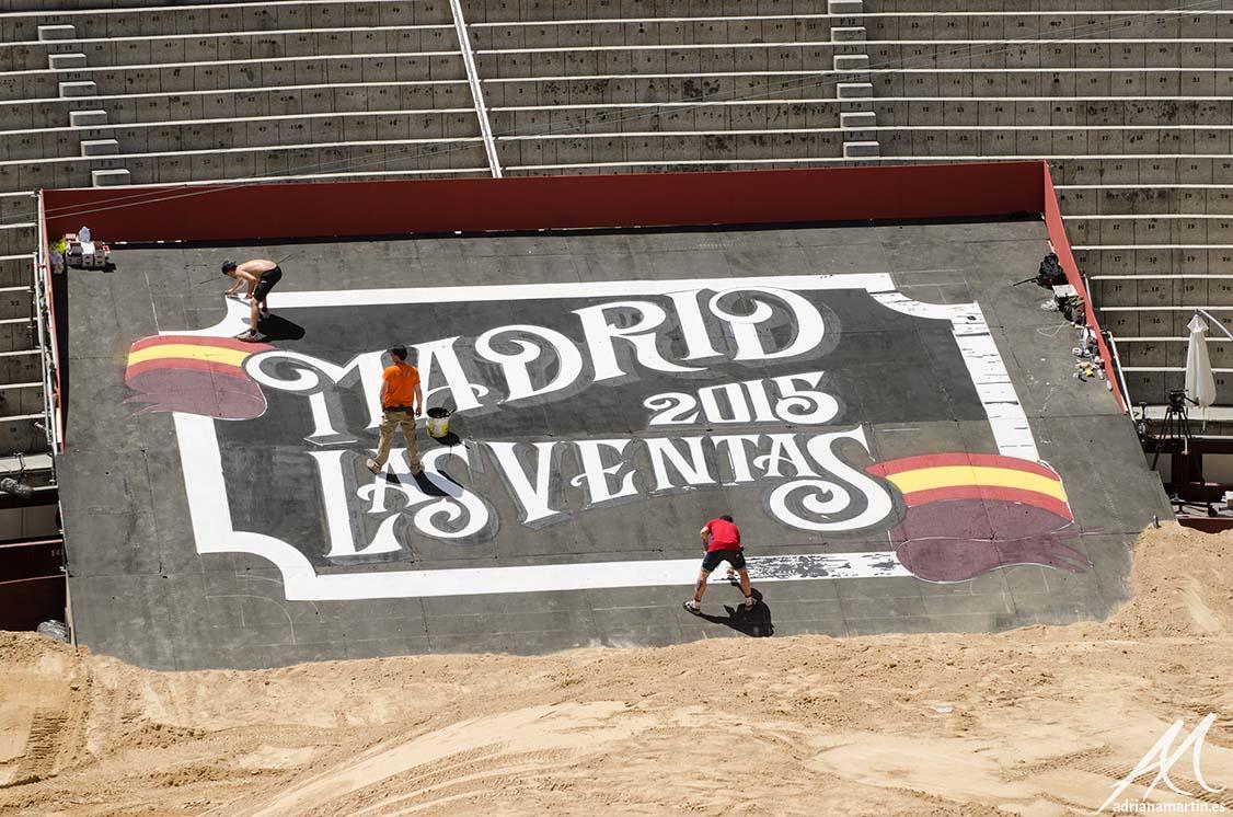 SoenBravo | Red Bull Xfighters 2015| Pintor de murales especializado en trabajos artísticos de pintura, graffiti y decoración en Madrid