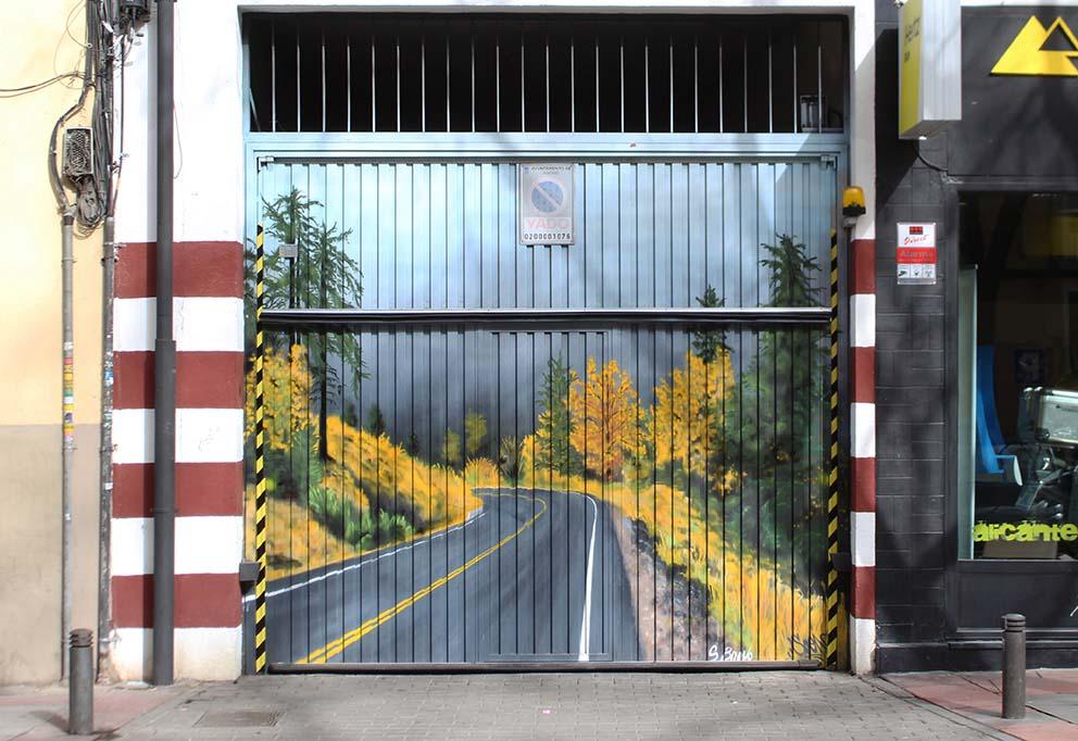 SoenBravo | Comunidad de vecinos | Pintor de murales especializado en trabajos artísticos de pintura, graffiti y decoración en Madrid
