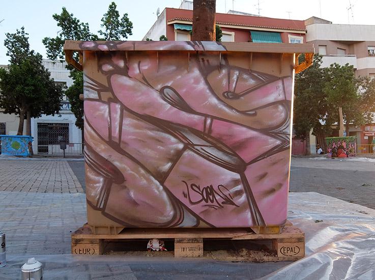 SoenBravo | Exhibición Medio Ambiente| Pintor de murales especializado en trabajos artísticos de pintura, graffiti y decoración en Madrid