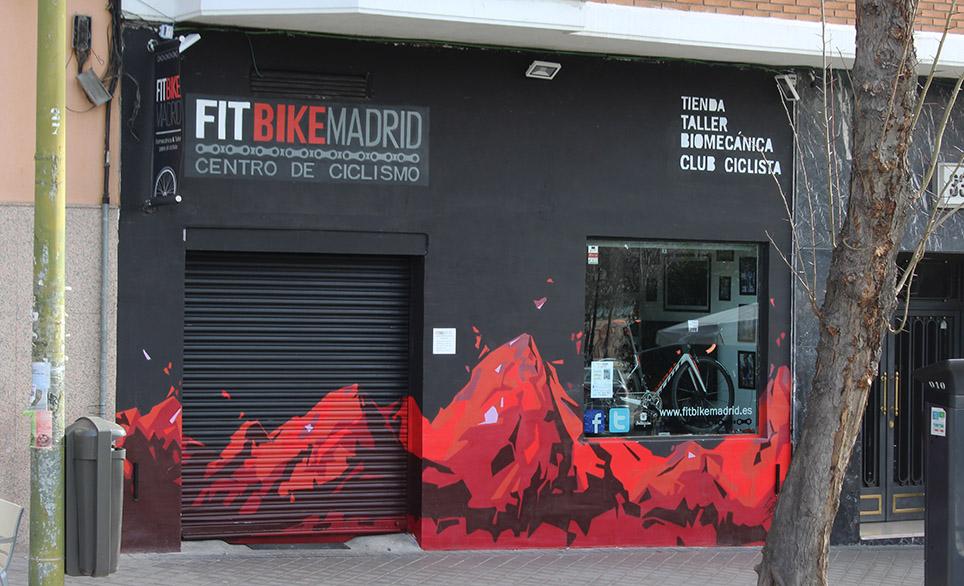 SoenBravo | Fit Bike | Pintor de murales especializado en trabajos artísticos de pintura, graffiti y decoración en Madrid