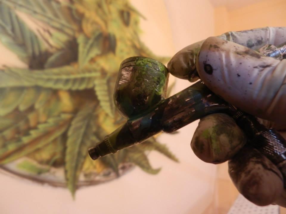 SoenBravo | Rama | Pintor de murales especializado en trabajos artísticos de pintura, graffiti y decoración en Madrid