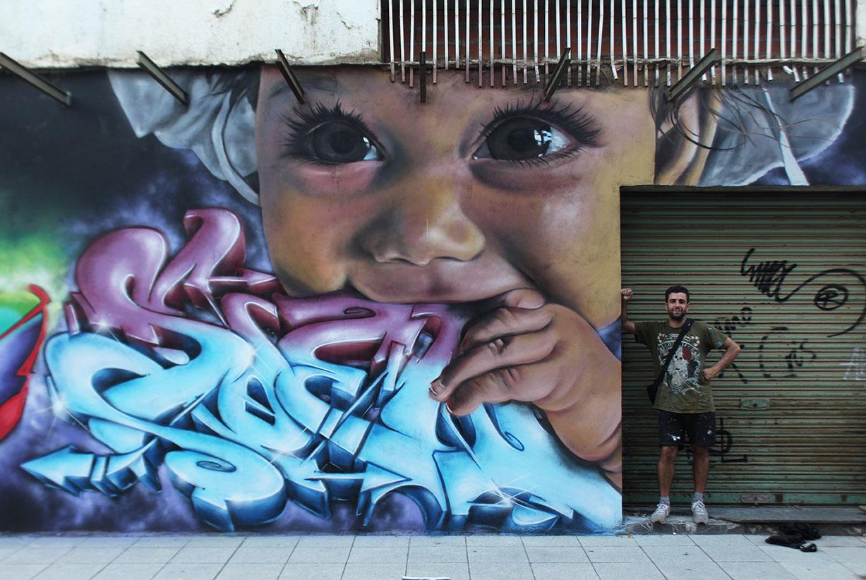 SoenBravo | ArtAeroRap| Pintor de murales especializado en trabajos artísticos de pintura, graffiti y decoración en Madrid