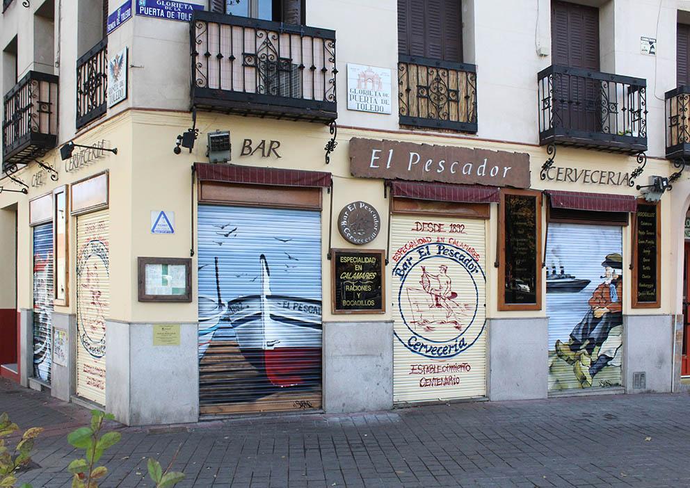 SoenBravo | El Pescador | Pintor de murales especializado en trabajos artísticos de pintura, graffiti y decoración en Madrid