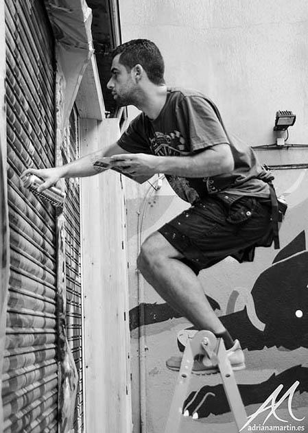 soenbravo artista pastico pintor murales graffiti madrid