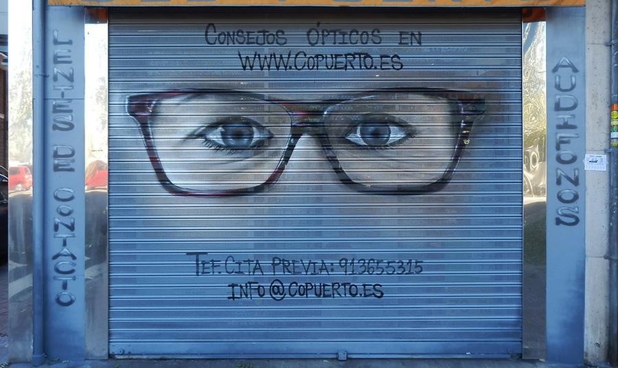 SoenBravo   Centro óptico   Pintor de murales especializado en trabajos artísticos de pintura, graffiti y decoración en Madrid